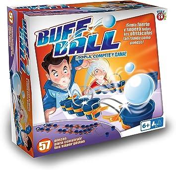 Amazon.es: Play Fun-Juego Puff Ball CREA Tus PROPIAS Pistas, Multicolor (IMC Toys 1)