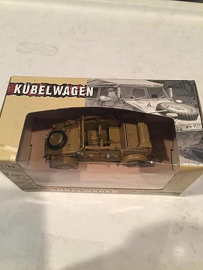 4-90750 Cararama 1//43 Volkswagen Kubelwagen Sofe Top K Type 82 Diecast Tan