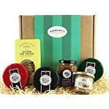 Snowdonia Cheese Company Gift Hamper Containing 3, 200g Truckles, Orchard Apple Chutney, Farmhouse Pate & Wafers for Cheese. Hamper Exclusive to Burmont's