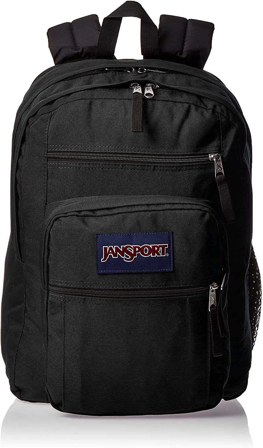 JanSport Big Student Backpack - Sustainable 15-inch Laptop School Bag, Black: Clothing
