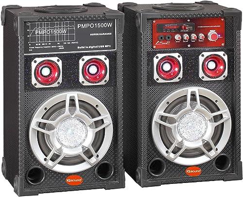 Supersonic IQ3006DJ 2.0 Portable Speakers