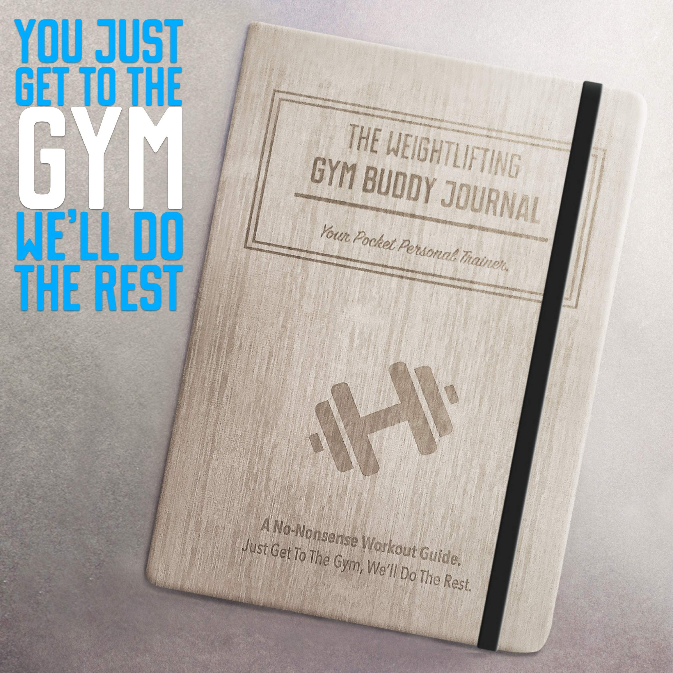 Habit Nest The Weightlifting Gym Buddy Journal. A 12-Week Personal Training Program in A Journal, with Workout and Exercise Journal/Log. Your Ultimate Fitness Planner. by Habit Nest (Image #7)