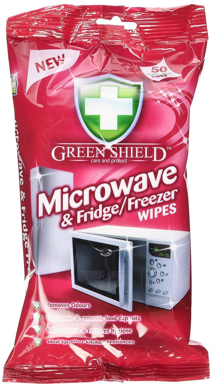 Verde Shield Microondas y toallitas de frigorífico/congelador (8 ...
