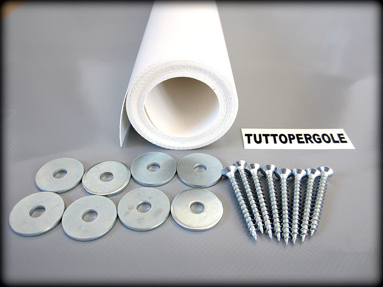 FASCIA PVC ONDA COPERTURA PERGOLE GAZEBO cm 40X500