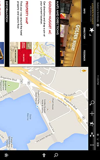 Amazon.com: Golden Nugget Atlantic City: Appstore for Android on harrah's map, excalibur map, palace station map, planet hollywood map, aria map, beau rivage map, riviera map, boulder station map, texas station map, santa fe station map, the venetian map, venetian hotel map, mirage hotel map, trump taj mahal map, sunset station map, thehotel at mandalay bay map, the mirage map, tropicana atlantic city map, luxor map, the palazzo map,
