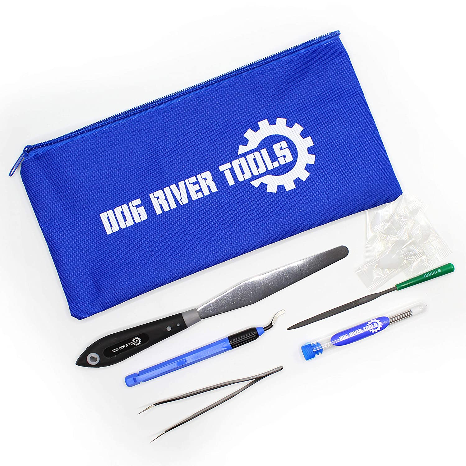 3D Printing Tool Kit - Print Removal, Nozzle Cleaning, Clean Up, Finishing and Maintenance Dog River Tools
