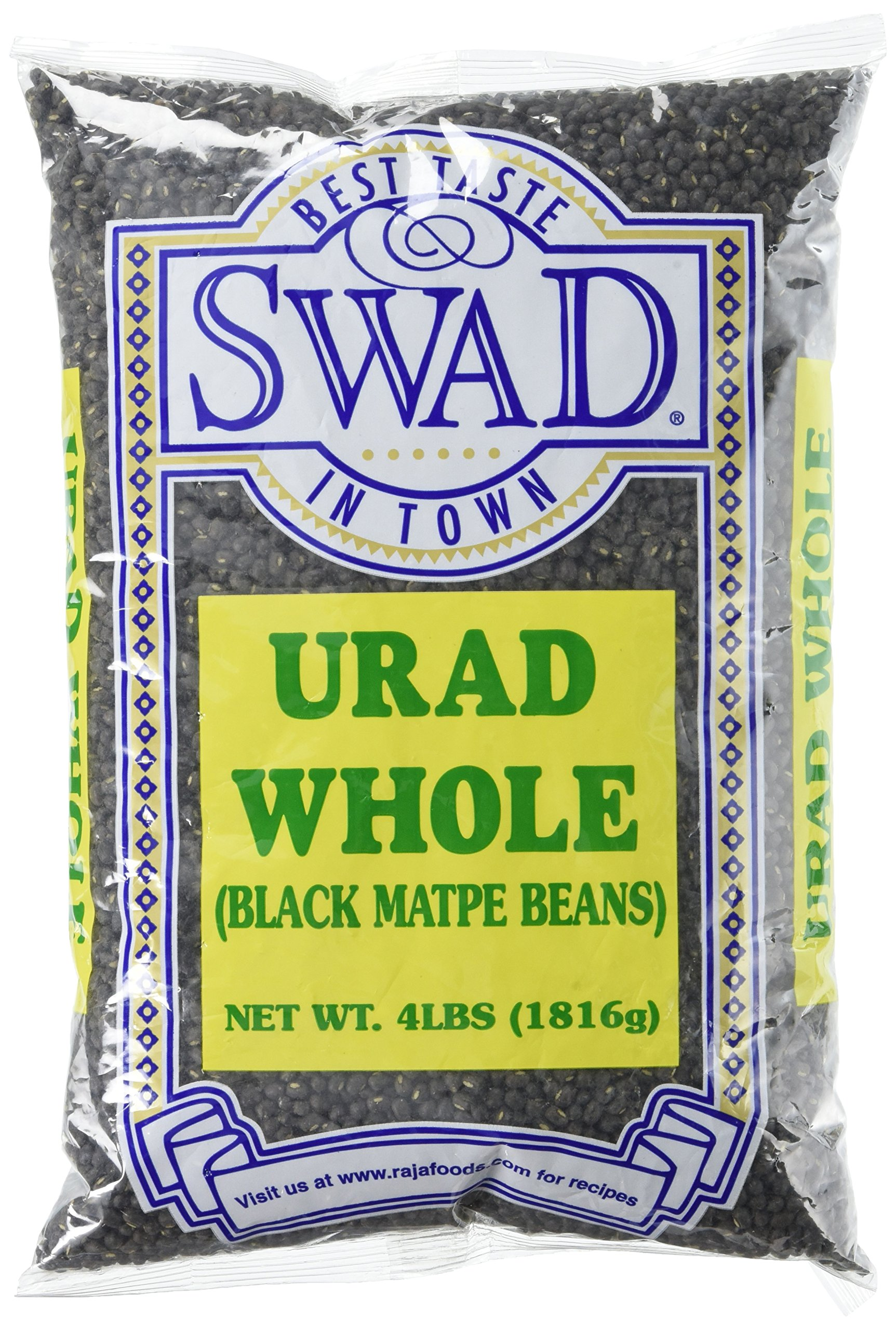 Great Bazaar Swad Urad Dal, Black, 4 Pound