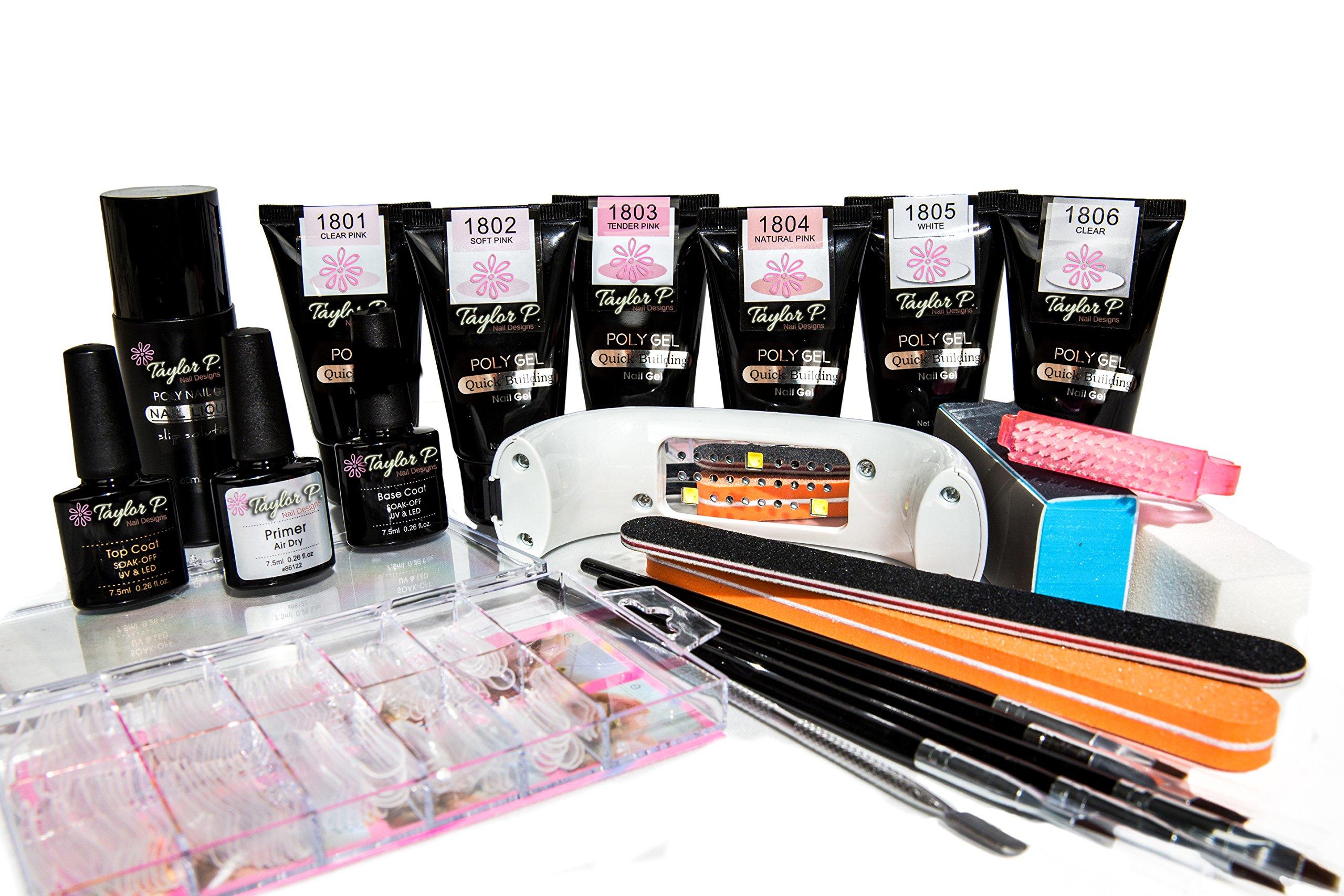Taylor P. Poly Gel UV LED Curable Master Kit