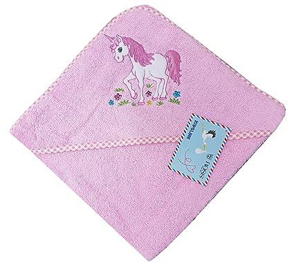 Ross Niños bebé, de toallas (Toalla con capucha en distintos motivos Unicornio Toalla con