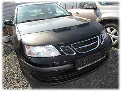 HOOD BRA Front End Nose Mask for SAAB 9-3 2003-2007 Bonnet Bra STONEGUARD  PROTECTOR TUNING