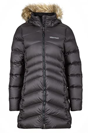 Marmot Ladies Montreal Coat Artificial Down Parka Coat Black