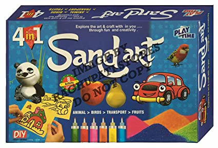 Buy sand art game for kids craft kits do it yourself making sand art game for kids craft kits do it yourself making designs with solutioingenieria Choice Image