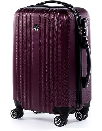 FERGÉ® Valigia molti colori e dimensioni TOULOUSE - leggero Bagaglio ABS  duro Trolley rigido con c5dbcf11c31