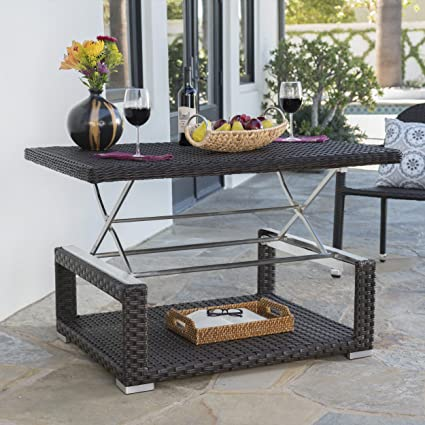 Outdoor Lift Top Coffee Table 1