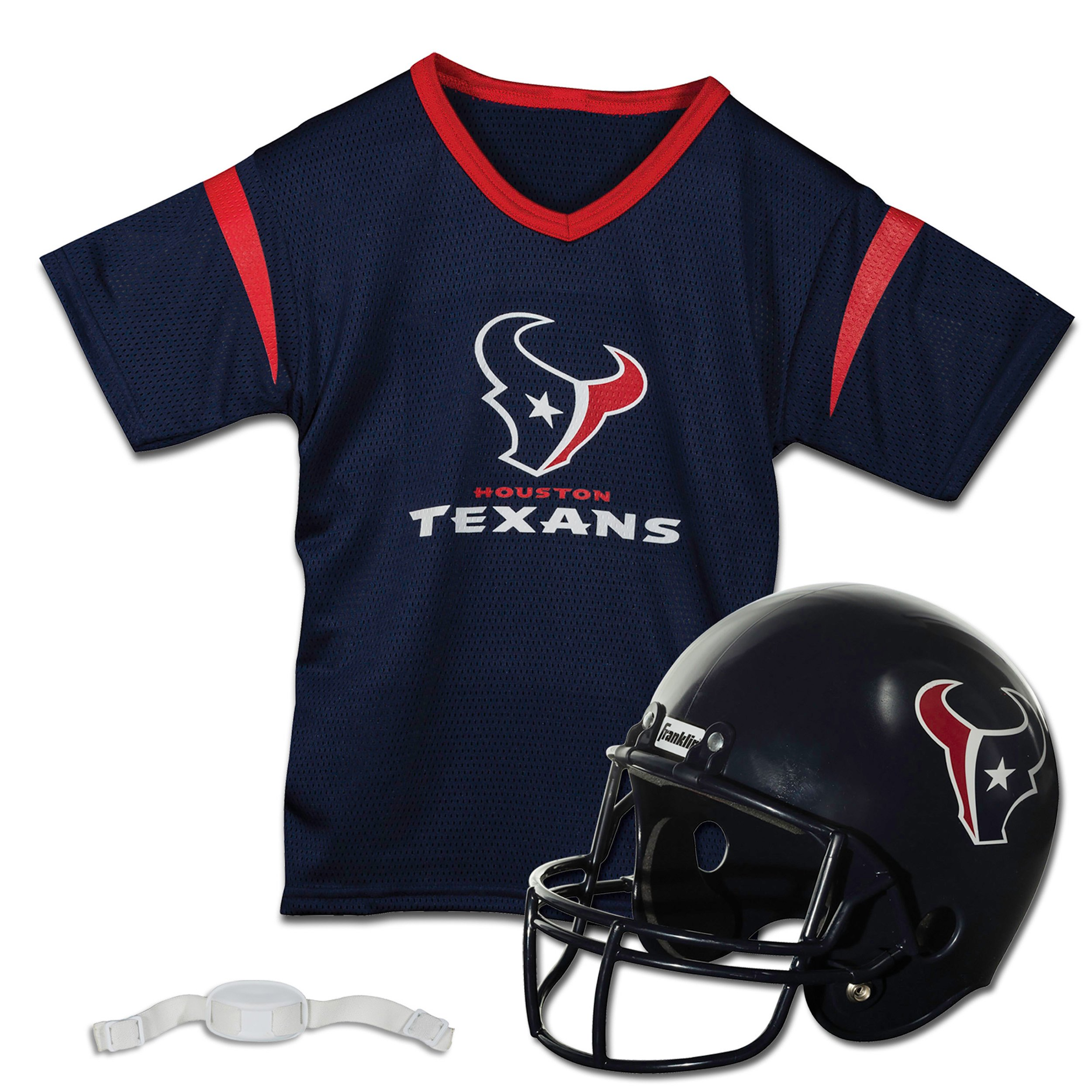 Franklin Sports NFL Houston Texans Replica Youth Helmet and Jersey Set by Franklin Sports