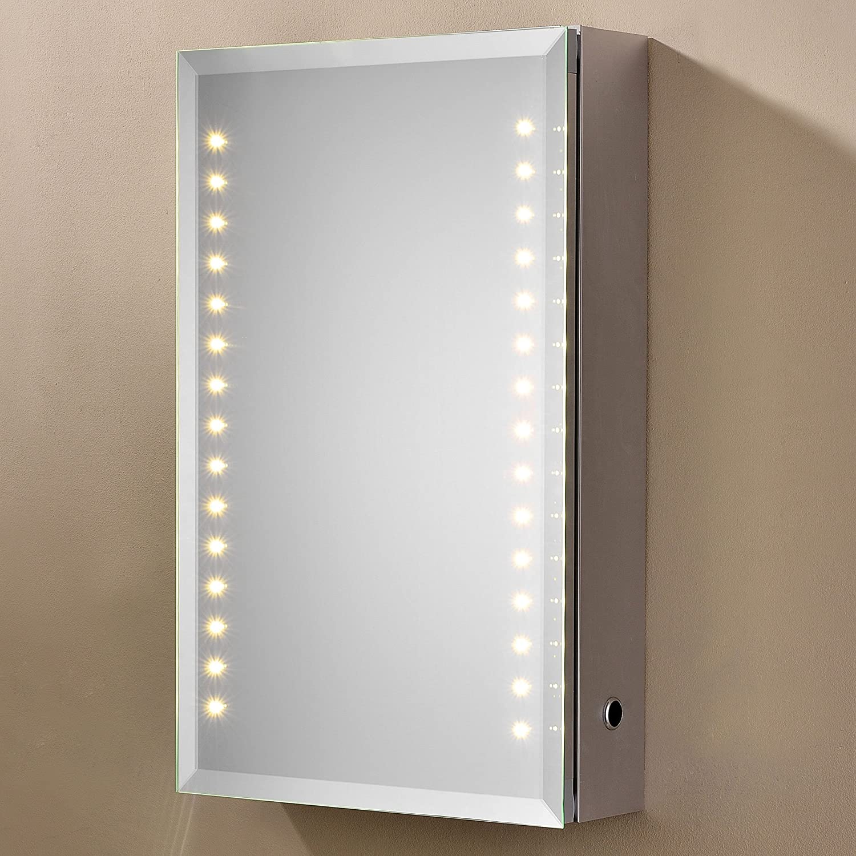 LED Beleuchteter Badezimmer Spiegelschrank mit Infrarot SENSOR 02-61 ...