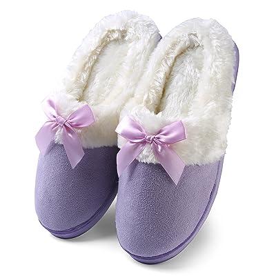 Aerusi Dreamer Womens US Size Cozy Slide Clog Slippers