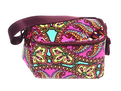 bde34248ba8e Image Unavailable. Image not available for. Color  Vera Bradley Stay Cooler  Insulated Lunch ...