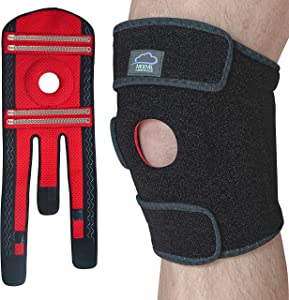 MODVEL Knee Brace Support | FDA Approved, Relieves ACL, LCL, MCL, Meniscus Tear, Arthritis, Tendonitis Pain | Open Patella Dual Stabilizers | Joint Pain Relief, Promotes Faster Injury Recovery