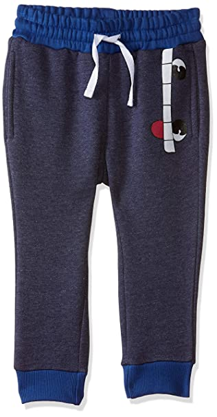 Boys' Relaxed Regular Fit Plain Trousers
