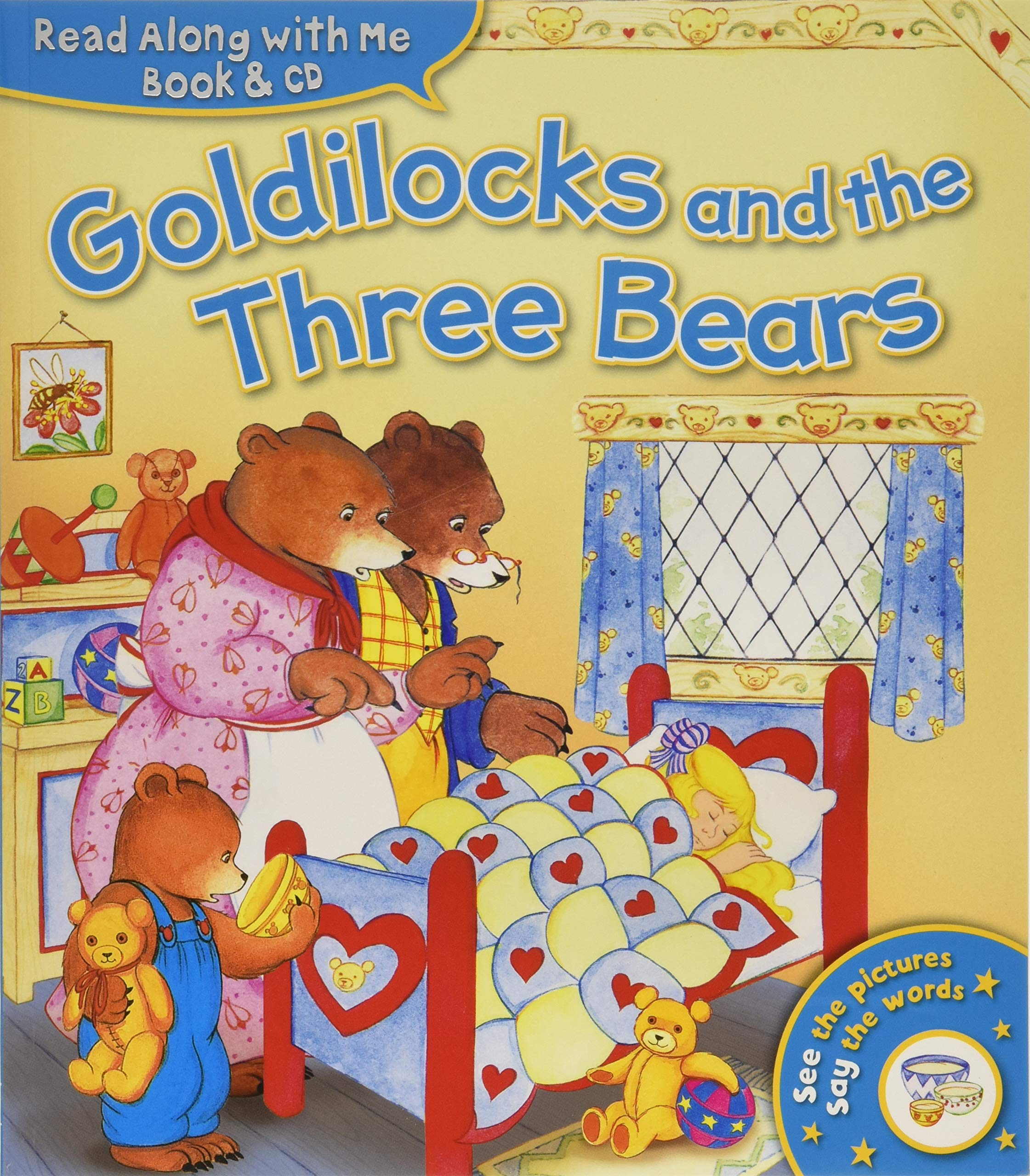 Read Along with Me: Goldilocks and the Three Bears (Book & CD) pdf epub