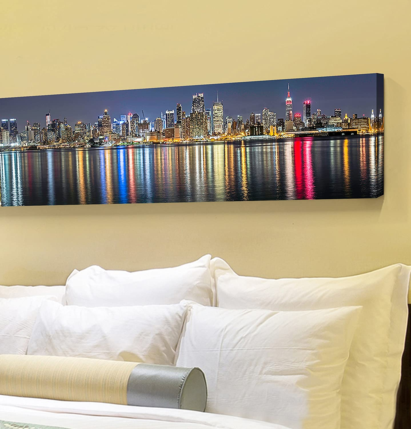 Amazon.com: Uto Art - Canvas Prints Wall Art - New York City ...