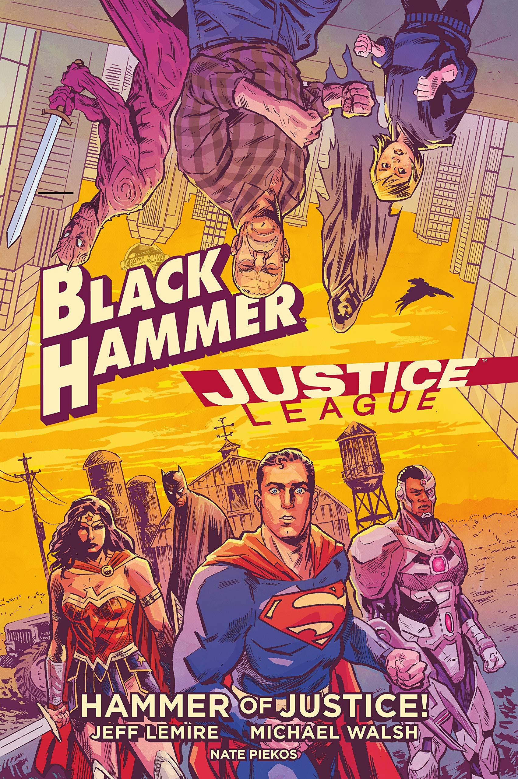 BLACK HAMMER/JUSTICE LEAGUE HC