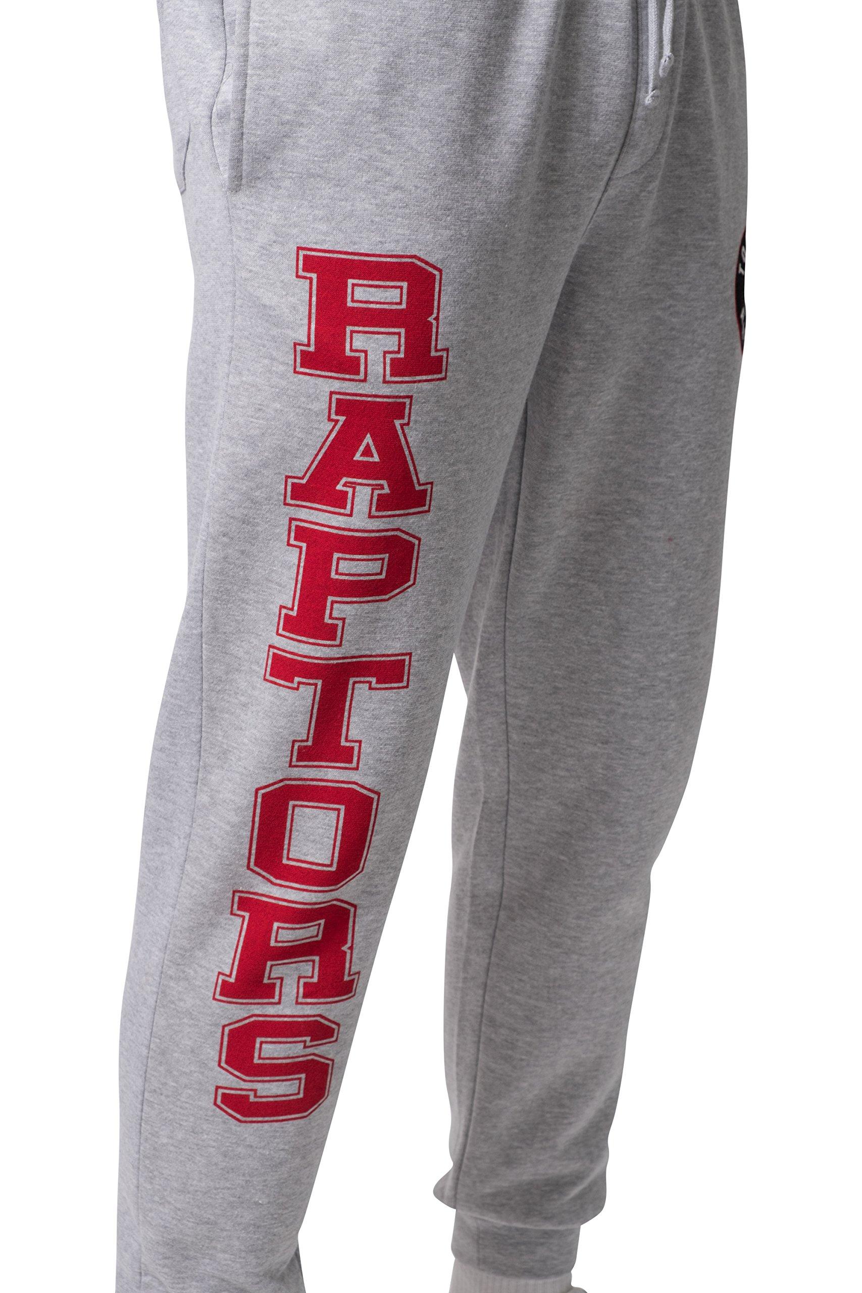 cd28b8a1d NBA Toronto Raptors Men s Jogger Pants Active Basic Soft Terry Sweatpants