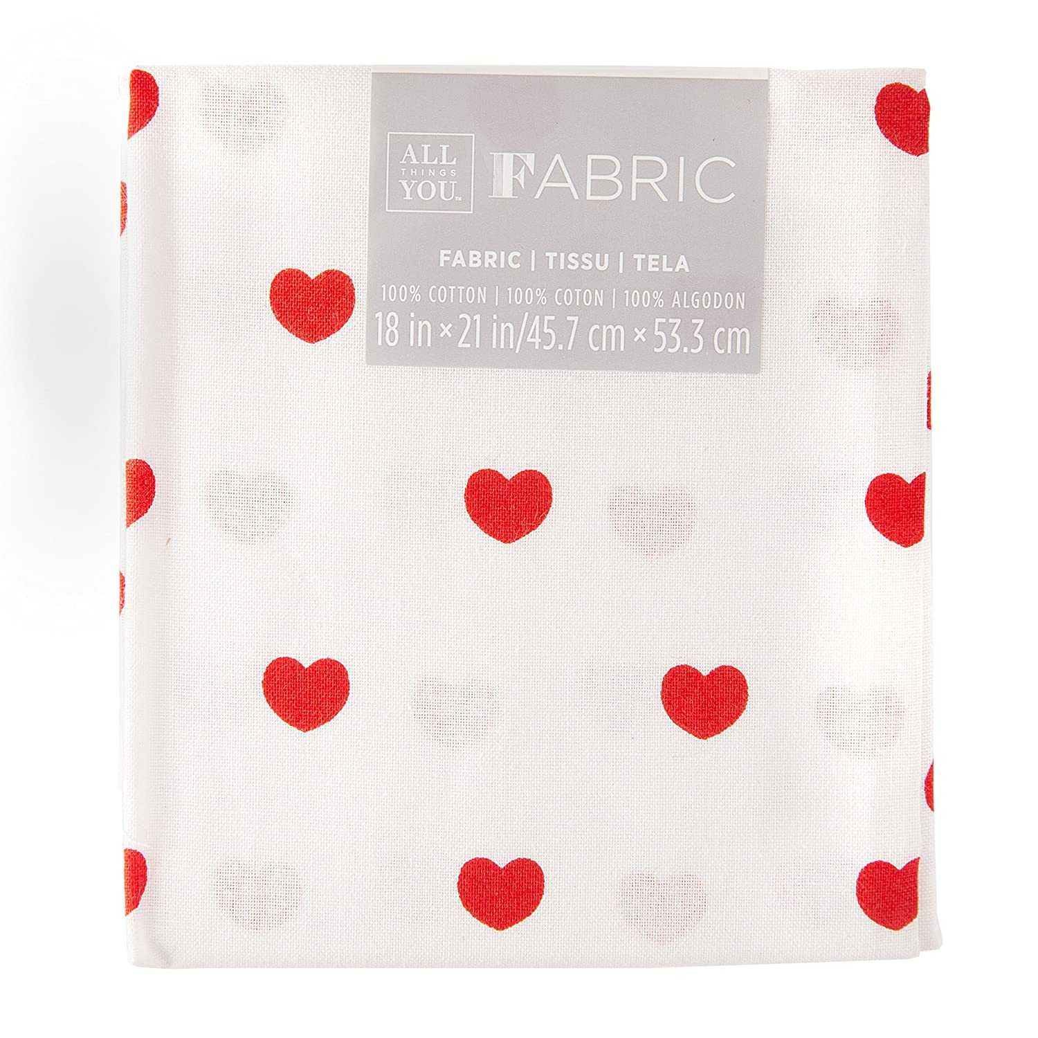 Red Hearts Darice 30029790 Patterned Quilting Fat Quarters