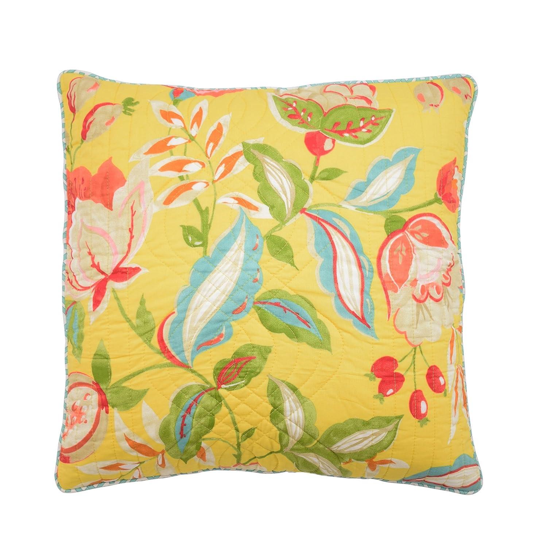WAVERLY Modern Poetic Decorative Pillow 20x20 Sunshine Ellery Homestyles 16305020X020SSH