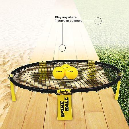 3d0fce42366e5 Amazon.com   Spikeball 3 Ball Game Set - Includes Playing Net