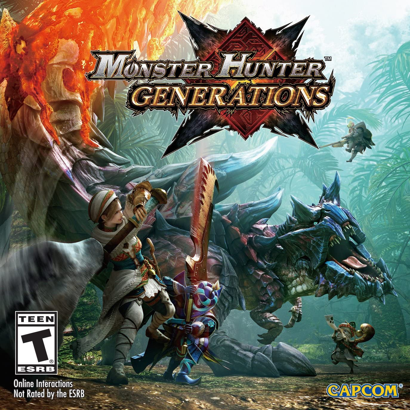 Amazon com: Monster Hunter Generations - Nintendo 3DS