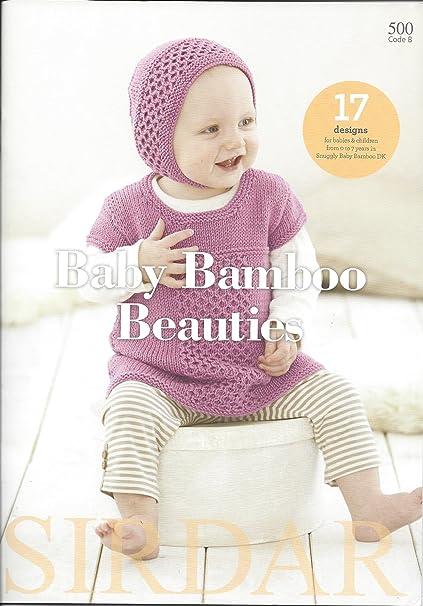 Amazon Baby Bamboo Beauties Sirdar Knitting Pattern Book 500