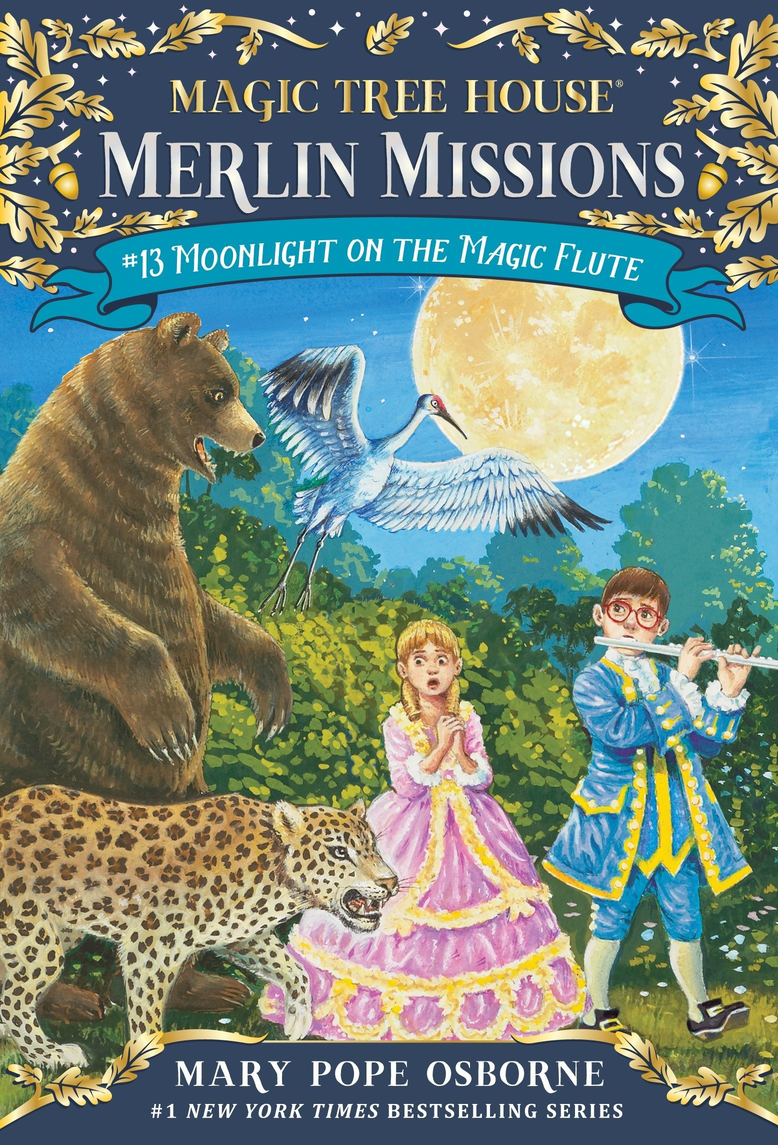 Moonlight on the Magic Flute (Magic Tree House (R) Merlin Mission) ebook