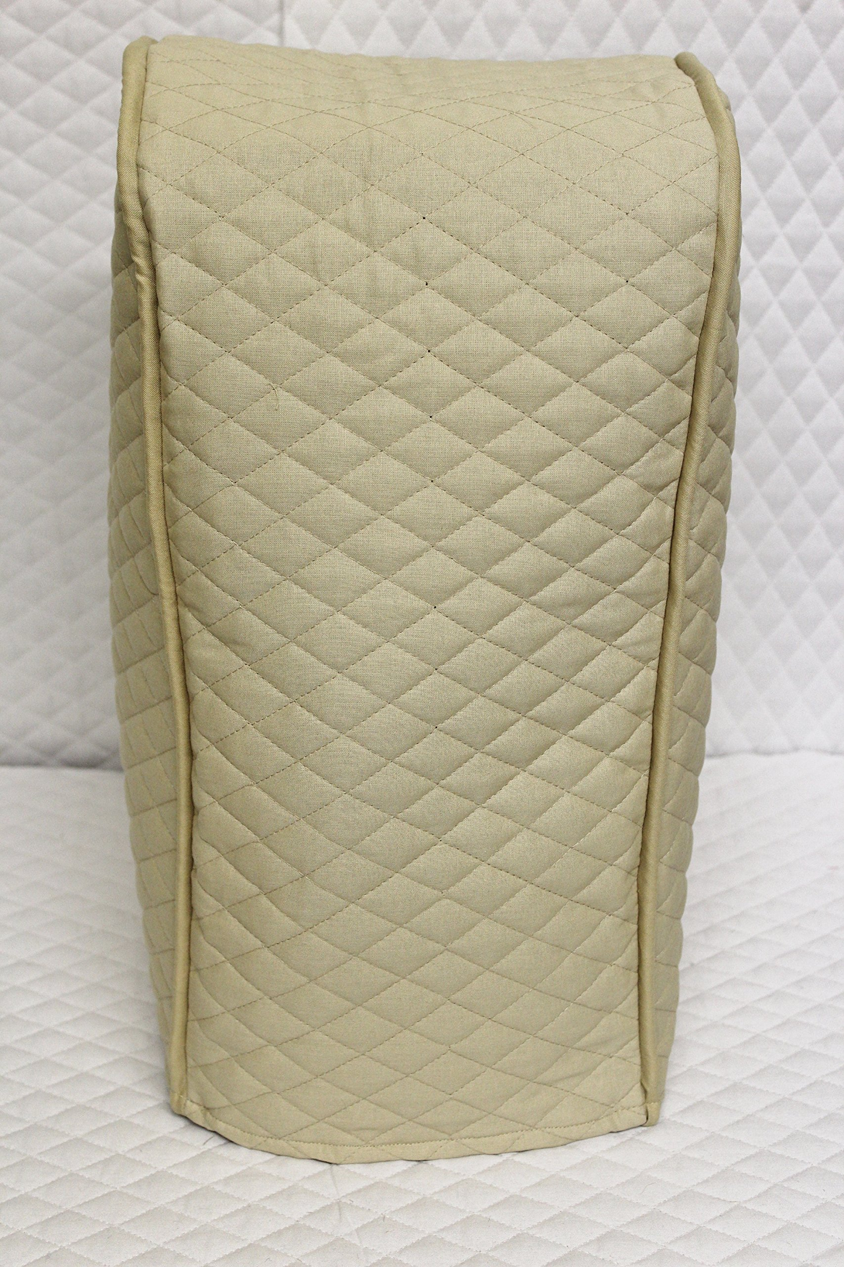 Ninja blender cover - Quilted Double Faced Cotton, Beige