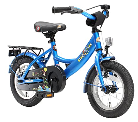 Bikestar Bicicletta Bambini 3 5 Anni Bici Bambino Bambina 12 Pollici Freno A Pattino E Freno A Retropedale 12 Classico Edition