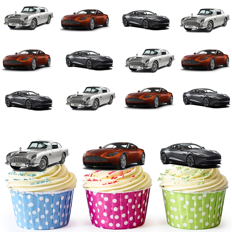 Kochen Genießen Personalised Birthday Vintage Ferrari Round 8 Easy Precut Icing Cake Topper Möbel Wohnen Pogio Be