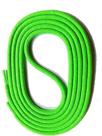 SNORS LACETS de COULEUR ronds NEON ORANGE 2-3mm Dentelles