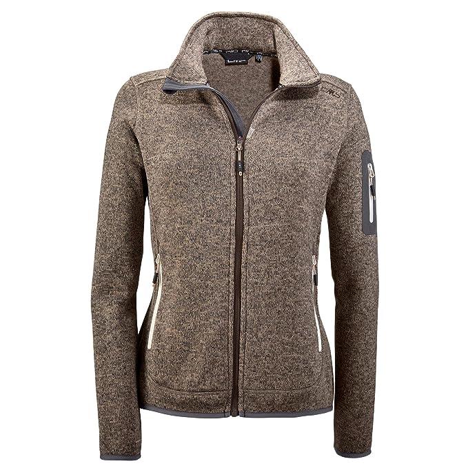 näher an offizieller Verkauf neu authentisch CMP Damen Strick Fleece Jacke 3h14746