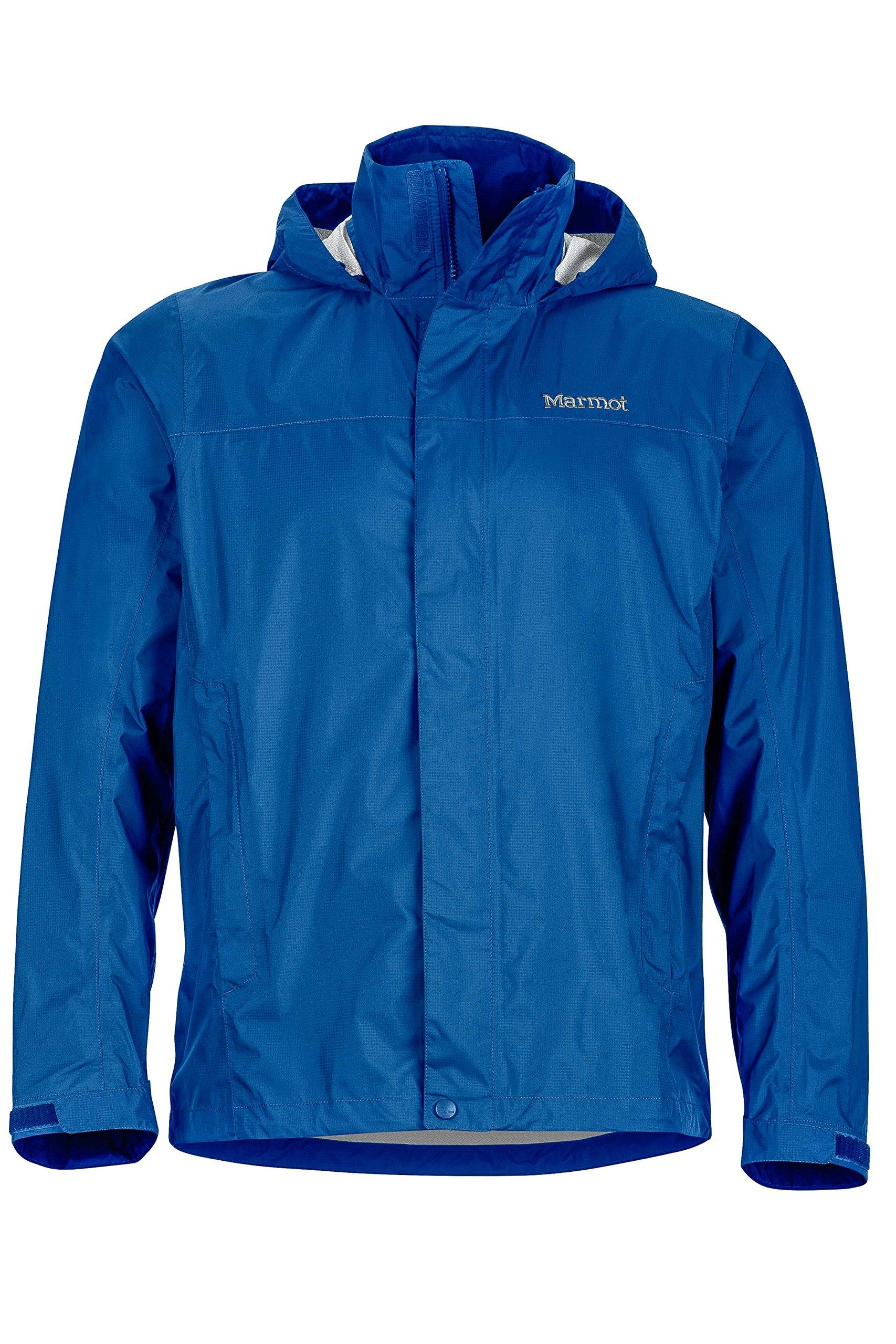 Marmot Men's PreCip Lightweight Waterproof Rain Jacket, Blue Sapphire, S by Marmot