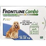 Frontline Combo chien 10/20 kg boite de 6 pipettes anti-puces et tiques