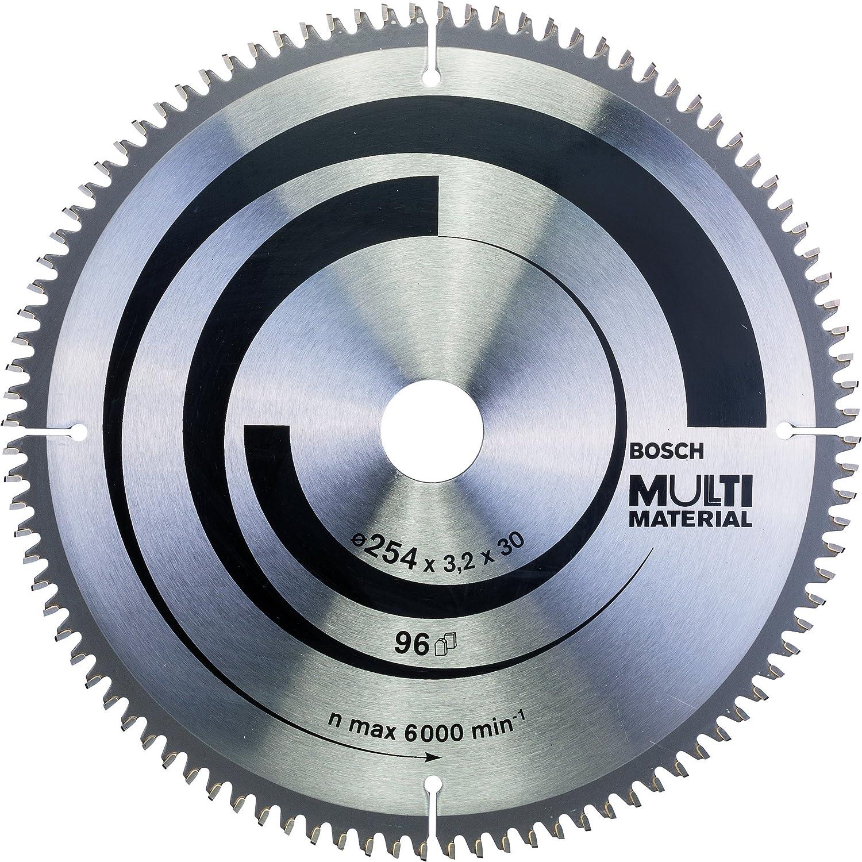 Bosch 2 608 640 451 - Hoja de sierra circular Multi Material - 254 x 30 x 3,2 mm, 96 (pack de 1): Amazon.es: Bricolaje y herramientas