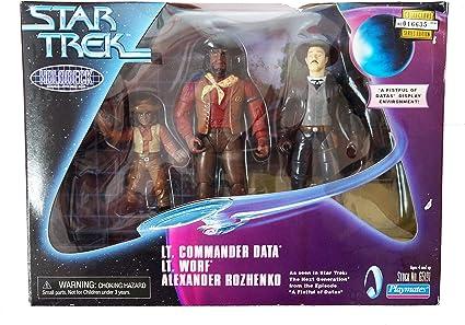 STAR TREK locutus di Borg MINI MASTER Figura Official Merchandise da QMX