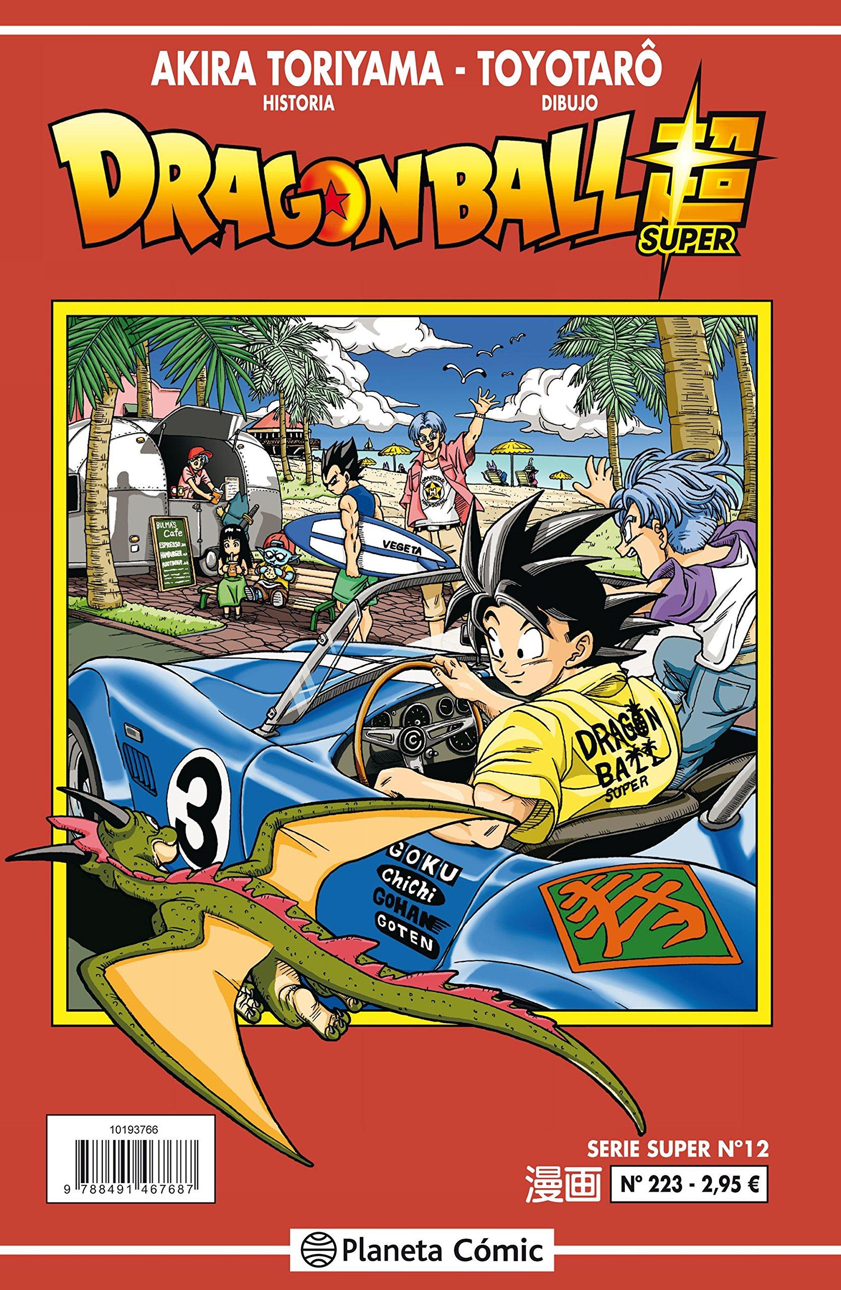 Dragon Ball Serie roja nº 223 (Manga Shonen) Tapa blanda – 2 oct 2018 Akira Toriyama Daruma Planeta DeAgostini Cómics 8491731350