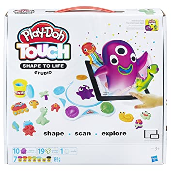 Play-Doh - Juego de Juegos de Estudio con Forma táctil para la Vida