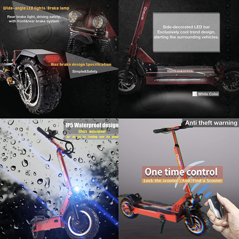 Amazon.com: QIEWA QPOWER - Motor doble para todo terreno ...
