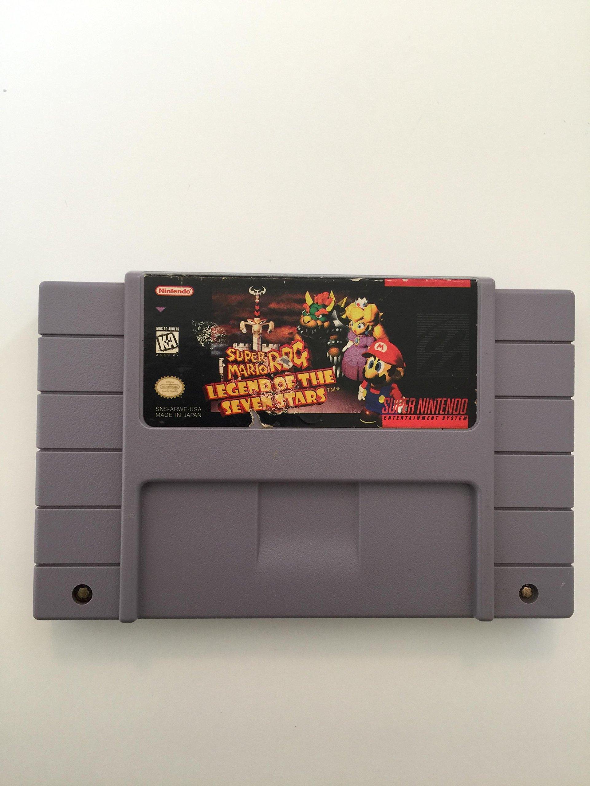 Amazon.com: Super Mario RPG: Legend of the Seven Stars ...