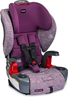 product image for Britax Grow with You ClickTight Harness-2-Booster Car Seat | 2 Layer Impact Protection - 25 to 120 Pounds, Mulberry [New Version of Frontier]