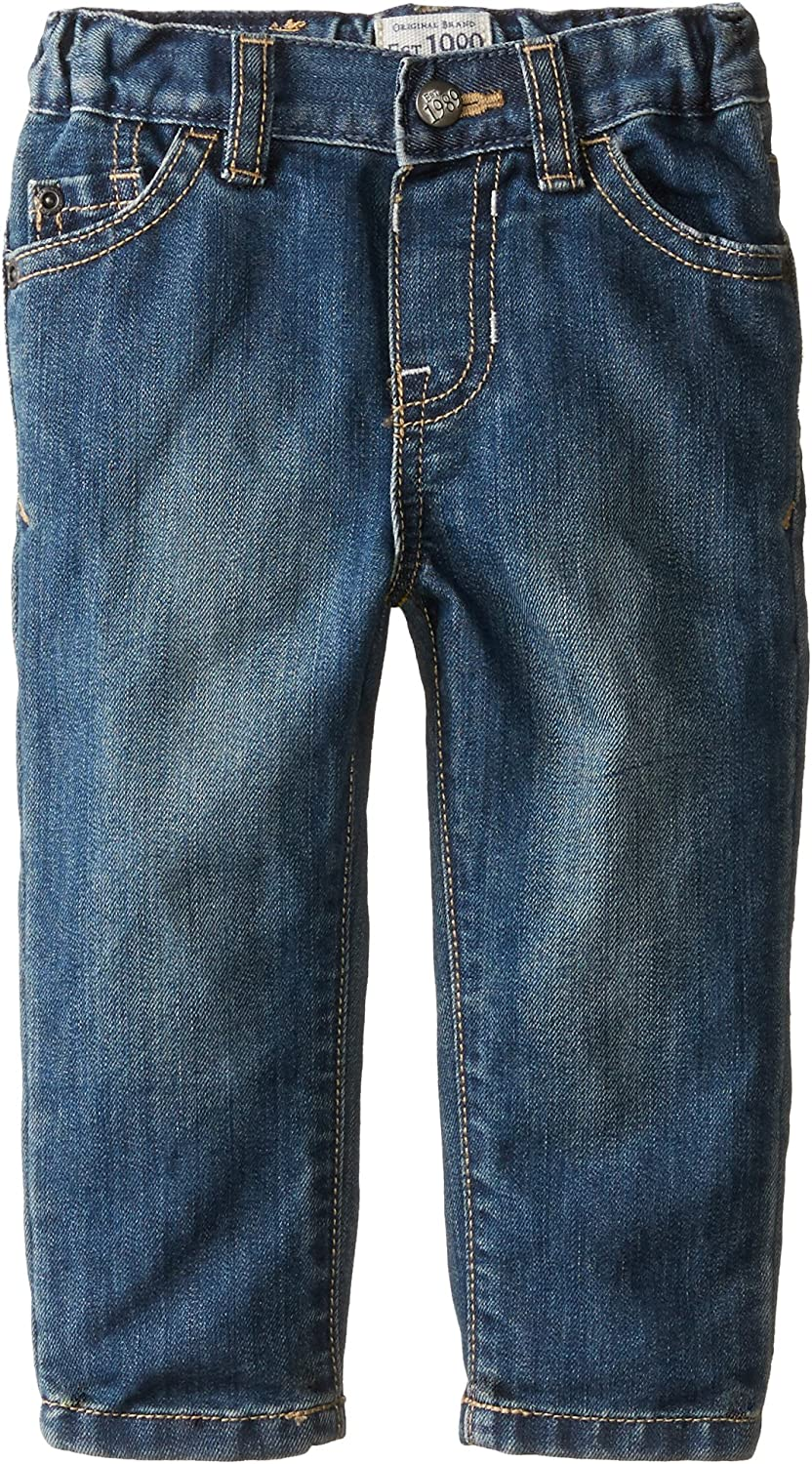 18-24 Months The Childrens Place Boys Baby and Toddler Basic Skinny Jeans Tide Pool