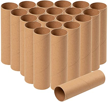 Amazon Com Cardboard Tubes 24 Pack Craft Rolls Paper Tubes